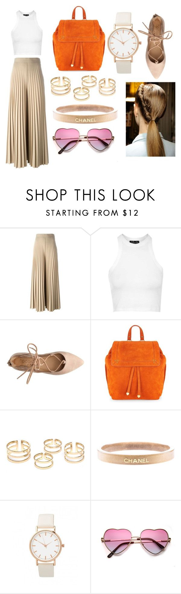 """""""Lazy me."""" by lineocarol on Polyvore featuring Givenchy, Topshop, Jérôme Dreyfuss, Chanel, women's clothing, women, female, woman, misses and juniors"""