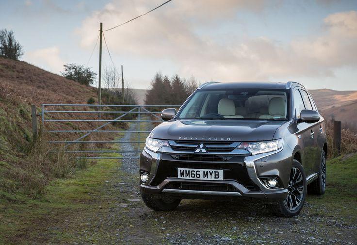 #Mitsubishi #Outlander #PHEV revamped for 2017