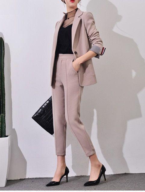 Pant Suit Women's Casual Business Suit