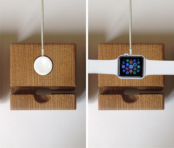 Apple Watch Docking Station Apple Watch Charger by artWoodworking
