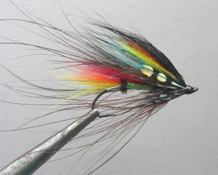 Jock Scott Spey - Atlantic Salmon Spey Fly