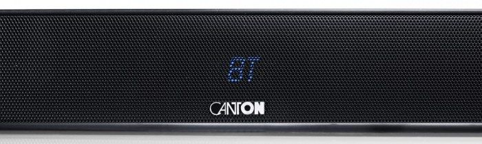 The Canton DM55 Soundbase is perfect for positioning under flat screen televisions. Bluetooth.
