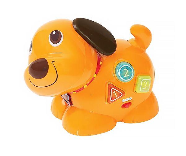 Interaktywny biegający piesek Łatek to idealna zabawka dla najmłodszych dzieci!  #zabawki #supermisiopl