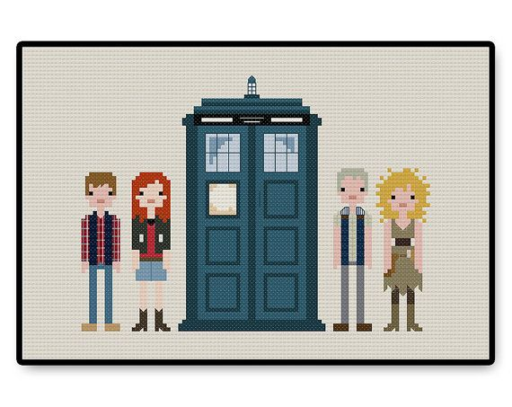 Doctor Who  Eleventh Doctor's Companions  Cross by HugSandwich