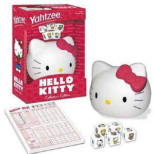 Hello+Kitty+Yahtzee+Game+Collector's+Edition