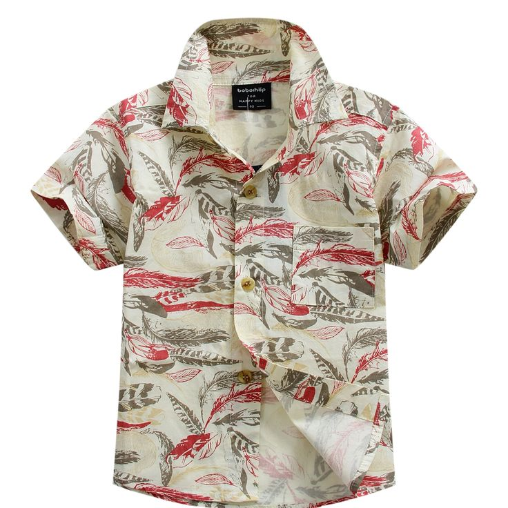 >> Click to Buy << new arrival cotton 100% floral shirt hawaiian shirt aloha shirt for boy T1539 #Affiliate