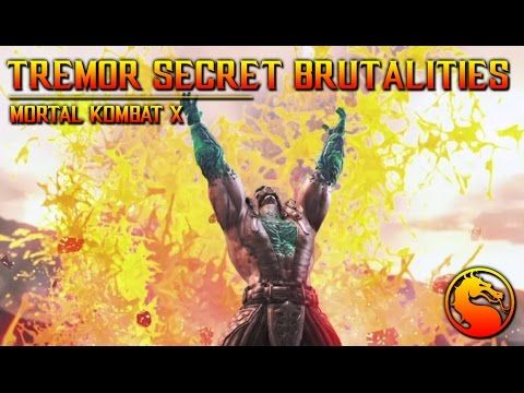 MKX: How to do all Tremors Secret Brutalities