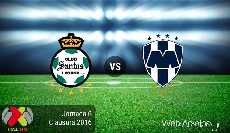 Santos vs Monterrey, Fecha 6 del Clausura 2016 ¡En vivo por internet! - https://webadictos.com/2016/02/12/santos-vs-monterrey-clausura-2016/?utm_source=PN&utm_medium=Pinterest&utm_campaign=PN%2Bposts