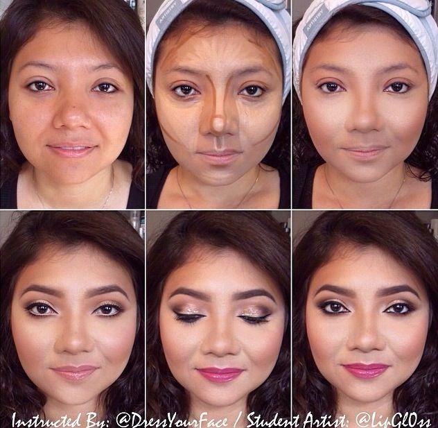 Más de 1000 ideas sobre Maquillaje De La Cara Redonda en Pinterest