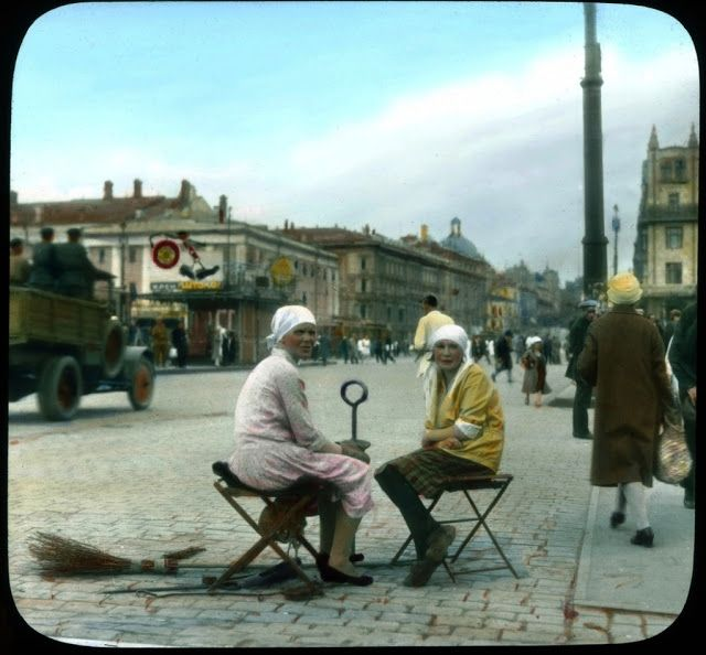 vintage everyday: Moscow in 1930s