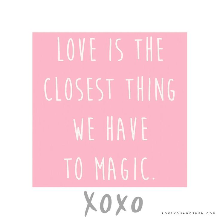 Love, magic