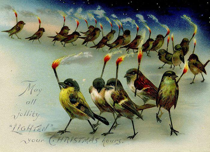 victorian christmas cards uk ; creepy-victorian-vintage-christmas-cards-2-584aa6e4c01e3__700