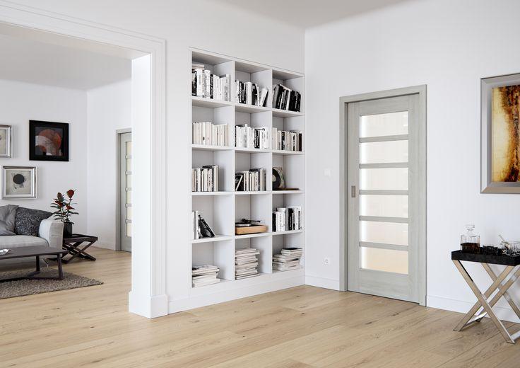 Dveře Sapeli - MERA Sapdecor Dub bílý