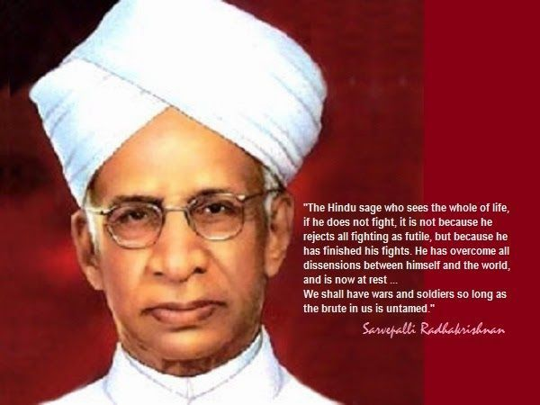 Teachers day - India celebrates Teachers Day in memory of Dr. Sarvepalli Radhakrishnan's whose birthday falls on September 5, 1888. He was a renowned, academic philosopher and India's Second President. Dr. Radhakrishnan was a strong supporter of education. Instead of celebrating his birthday separately he requested to observe the day as Teachers' Day to give honor to all the Teachers in India.