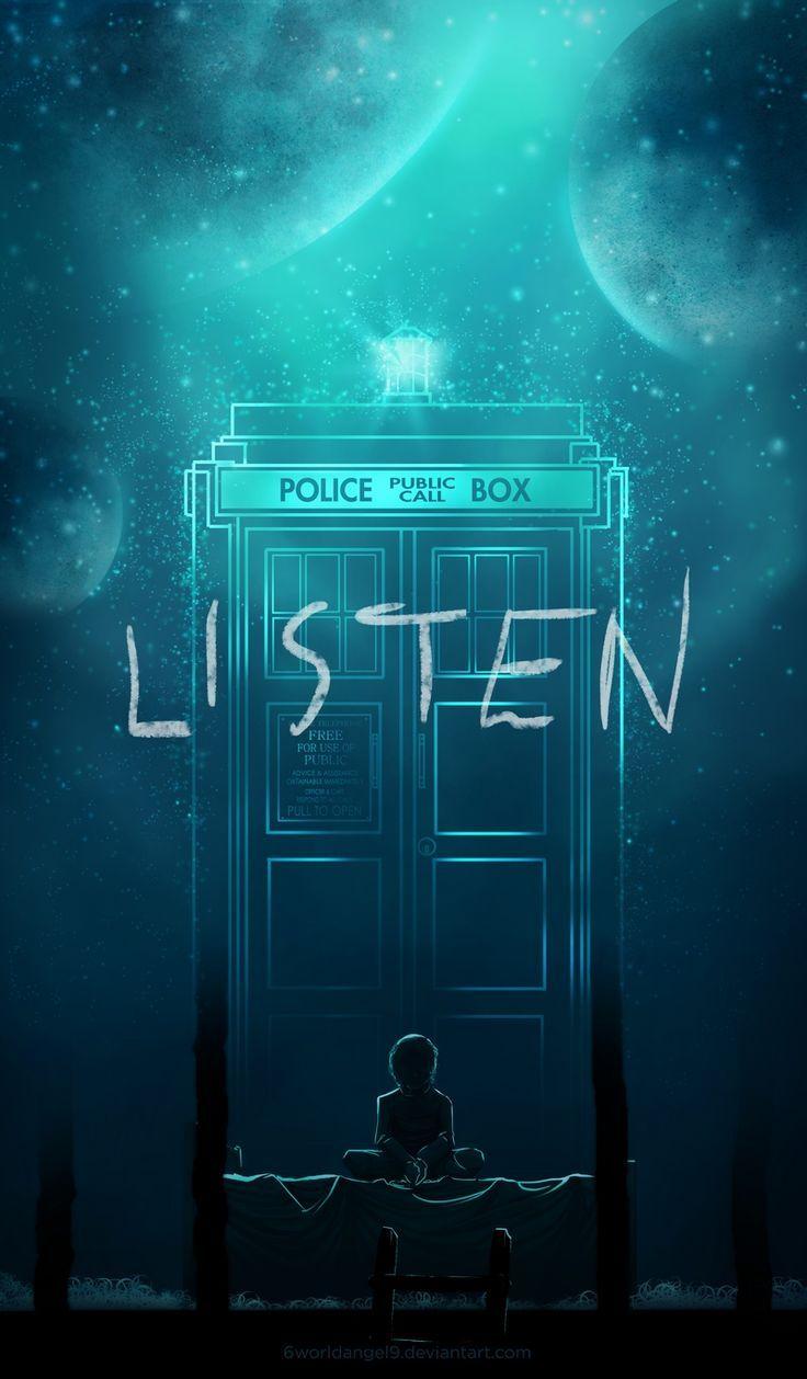"""Doctor Who s08e04 """"Listen""""                                                                                                                                                                                 Mais"""