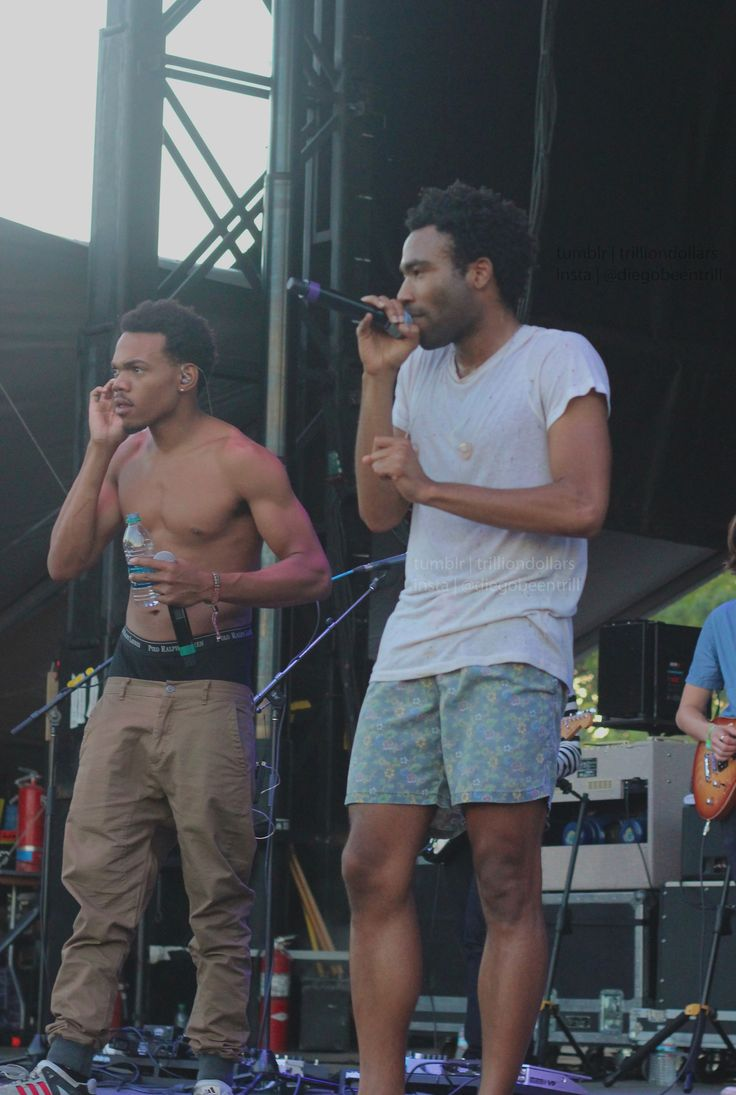 Chance The Rapper + Childish Gambino = BEST THING EVER!