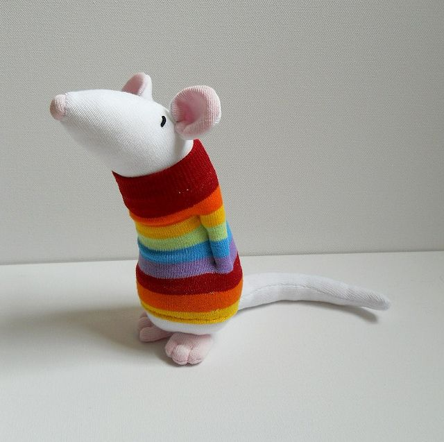 large sock mouse