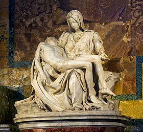 La Pietà-Michel Ange.