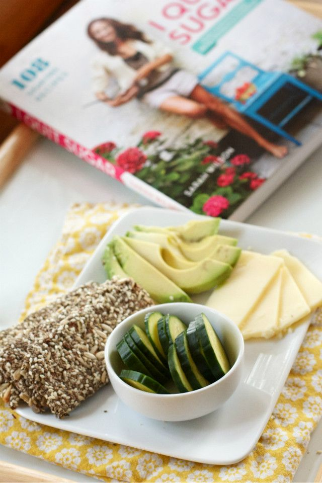 """Healthy """"Meal-in-a-Cracker"""" - perfect for satisfying those salty/crunchy cravings."""