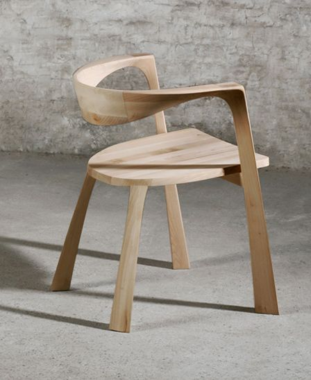 THREETREE collection by Grupa bent woodWood Chairs, Curved Wood Seat, Grupa Bent, Bent Wood, Threetr Collection, Threetre Collection, Fab Furne Wood