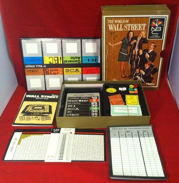 1969 The World of Wall Street Game by Hasbro NBC | Unique Pickers