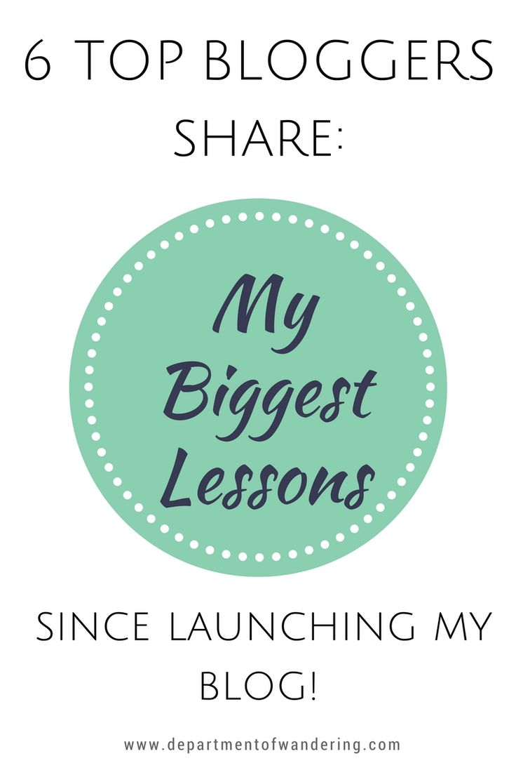 Bloggers Share: My Biggest Lesson Learnt Since Launching my Blog