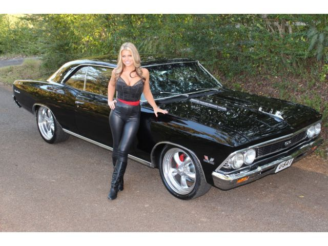 1966-Chevy-Chevelle-Frame-Off-Big-Block-4-Speed-Vintage-AC-4WPDB-PS-SS-Clone