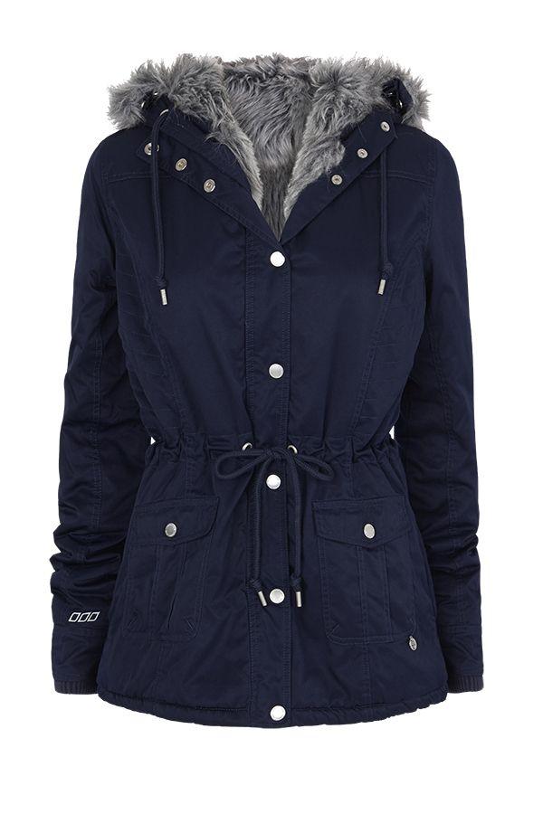 Sahara Parka | Uniquely Lorna Jane | Categories | Lorna Jane OMG I love this! Furry lining. Navy Hoodie!