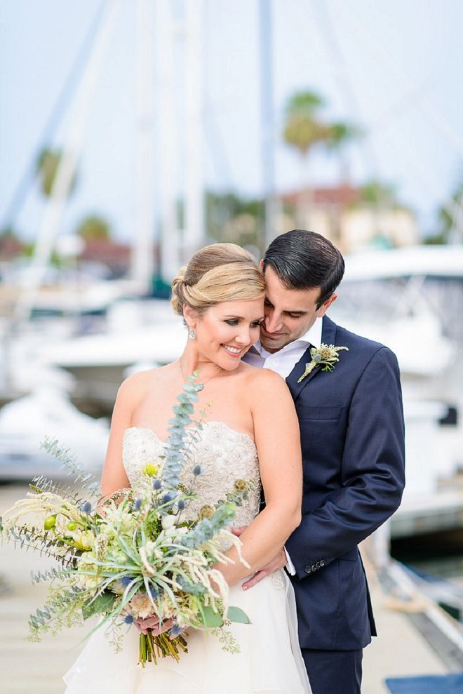 beach wedding in new jersey%0A Crushing on this couple and their nautical styled coastal wedding