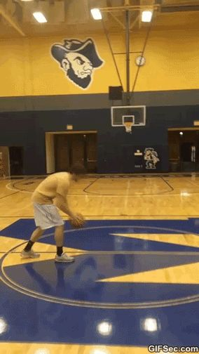 """I can do THAT (below) And by """"that""""... I mean that fist pump at the end.                 [Source] Thi..."""