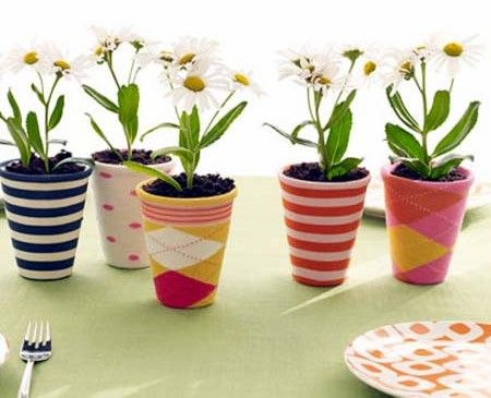 Cute: Sock Covers for Soda Bottle Planters