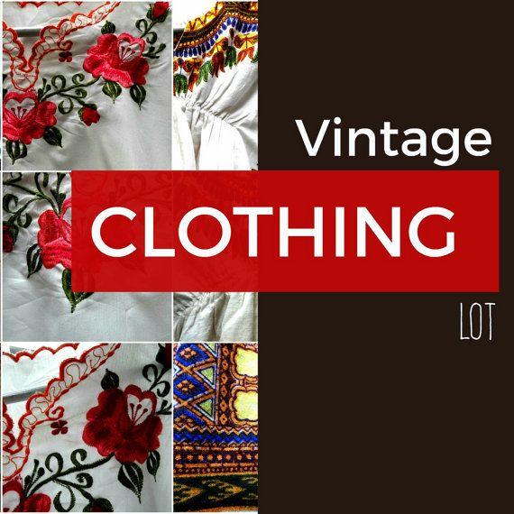 Vintage clothing online, Vintage clothing wholesale, Vtg