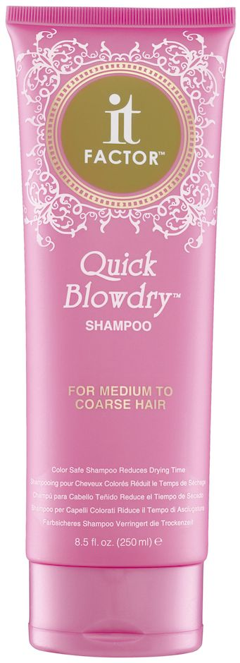 It Factor Quick Blowdry Shampoo - For Medium To Coarse Hair
