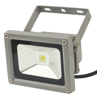 [USD5.22] [EUR4.77] [GBP3.76] 5W White LED Floodlight Lamp, AC 85-265V, Luminous Flux: 400lm-450lm