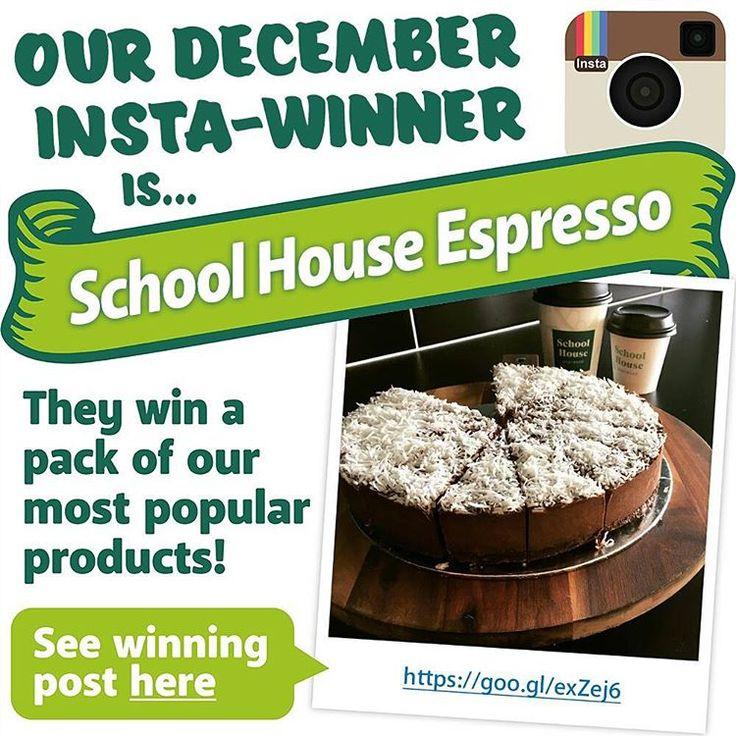 December winner for #iwantaCastawayPack photo contest is School House Espresso
