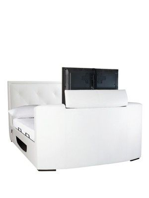 Estates Faux Leather Storage TV Bed Frame, http://www.very.co.uk/estates-faux-leather-storage-tv-bed-frame/1267889222.prd