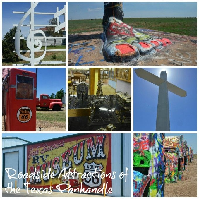 Eight weird and wacky attractions in the Texas panhandle-Cadillac Ranch and more