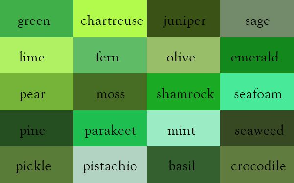 Now You Can Discover Every Hue In The Rainbow With This Beautiful Color Thesaurus