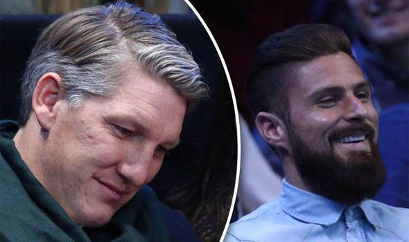 Bastian Schweinsteiger and Olivier Giroud snapped enjoying Andy Murray ATP Finals victory   via Arsenal FC - Latest news gossip and videos http://ift.tt/2fwDKu9  Arsenal FC - Latest news gossip and videos IFTTT