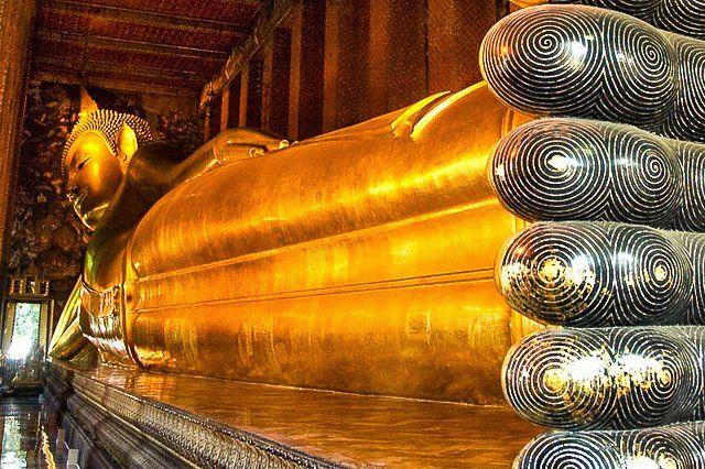 Wat Pho. Bangkok, Thailand