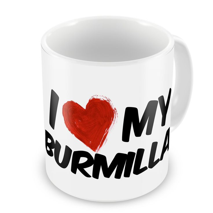 Coffee Mug I Love my Burmilla Cat from United Kingdom - Neonblond ** Check this awesome image  : Cat mug