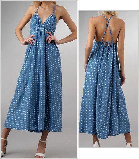 Maxi dress free pattern