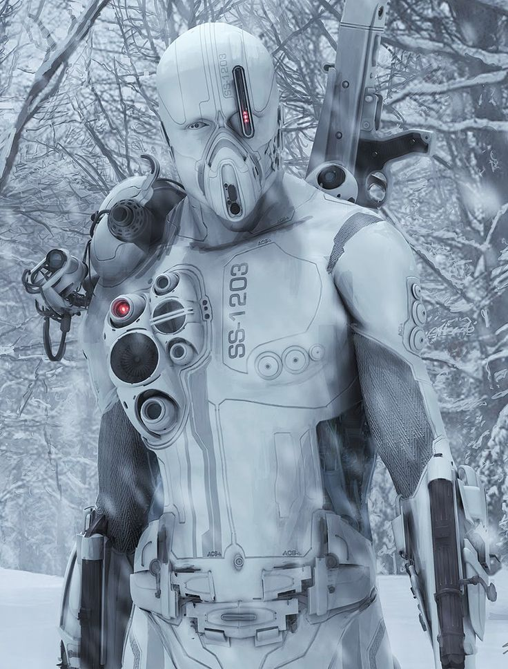 Snow Bot by Chris Stoski