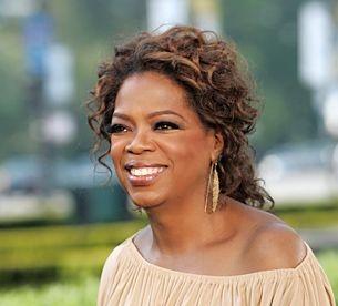 Oprah - such a cute picture!