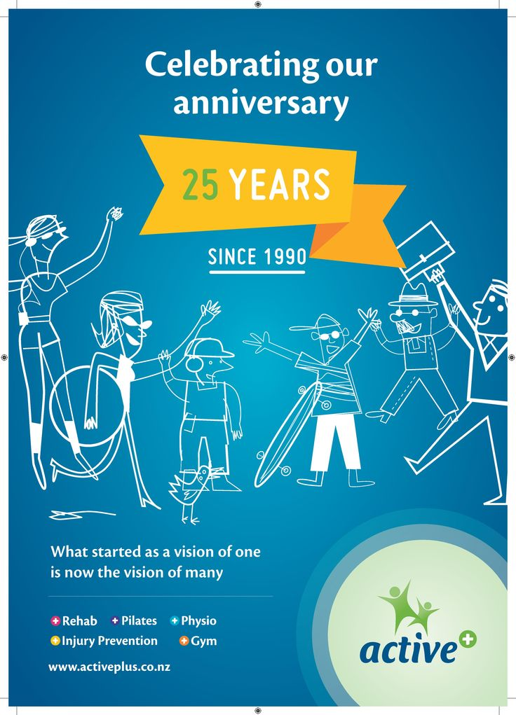 its our 25 year anniversary! Click on the web link to read a bit more of our history