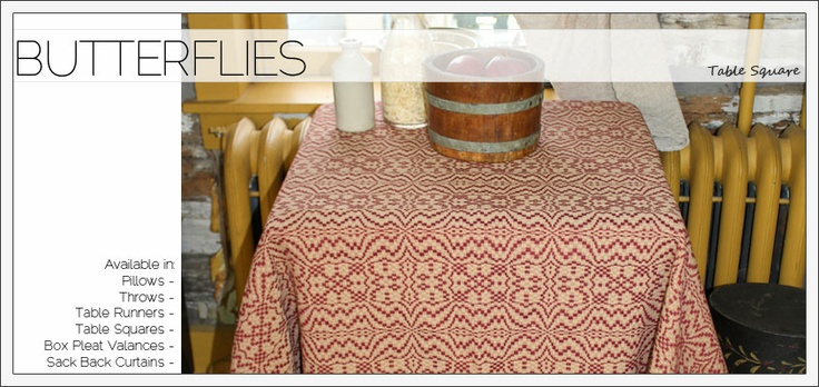 Family Heirloom Weavers: Colonial Primitive, Decor Ideas, Heirloom Weavers, House Projects, Primitive Textiles