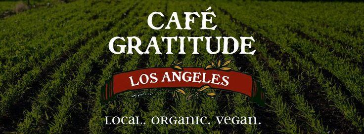 Café Gratitude is an Organic Restaurant to enjoy in Santa Cruz or Los Angeles.