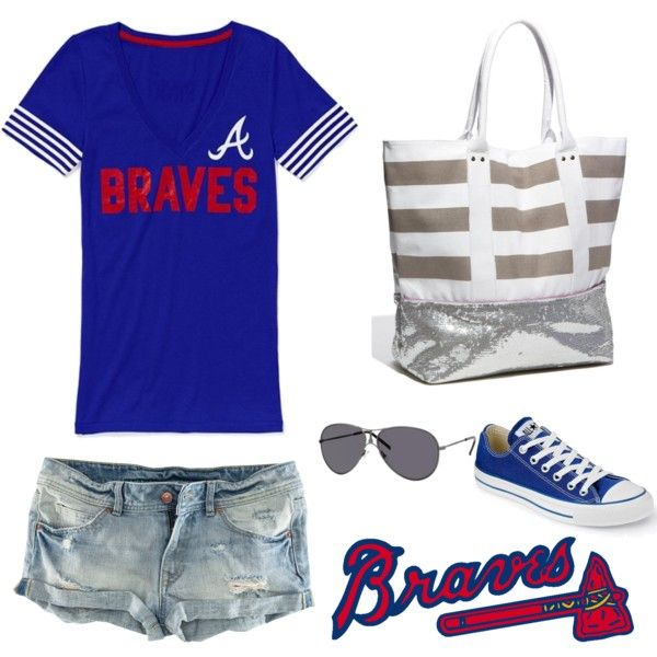 Braves game, created by erfuchs.polyvore.com