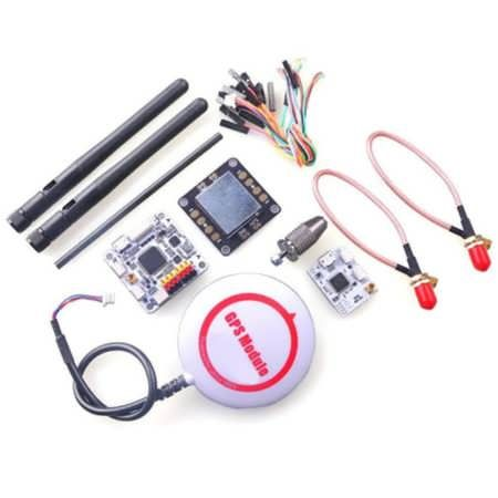 OpenPilot CC3D Revolution Flight Controller + Oplink + M8N GPS + Distribution Board                    1. OpenPilot CC3D Revolution     Technical description    CPU    CPU is the STM32F405RGT6 chip, with ARM Cortex-M4 core at 210MIPS, FPU, and saturation arithmetics DSP...