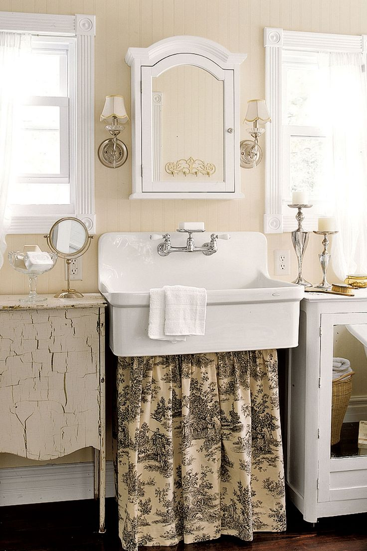 Gallery One  Rooms That Perfectly Embody Farmhouse Style Vintage BathroomsShabby Chic BathroomsBathrooms DecorCottage